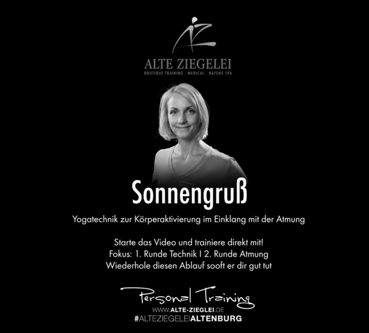 Fitness Medical Wellness In Altenburg Yoga Sonnengruss